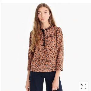 j Crew shirt Point Sur shirt in Caramel